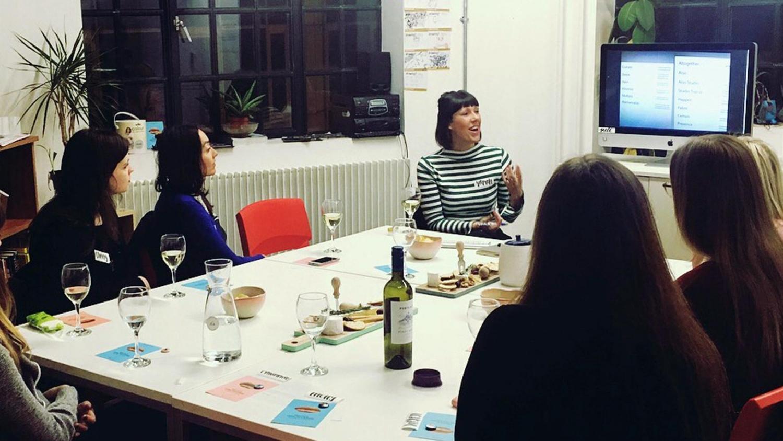 Altogether Creative Sarah Tempest at Ladies Wine and Design, Baltic 39.