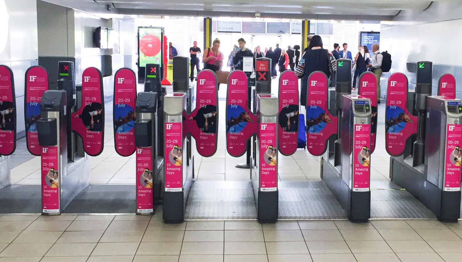 IF MK Festival Milton Keynes branding and advertising campaign by Altogether Creative.