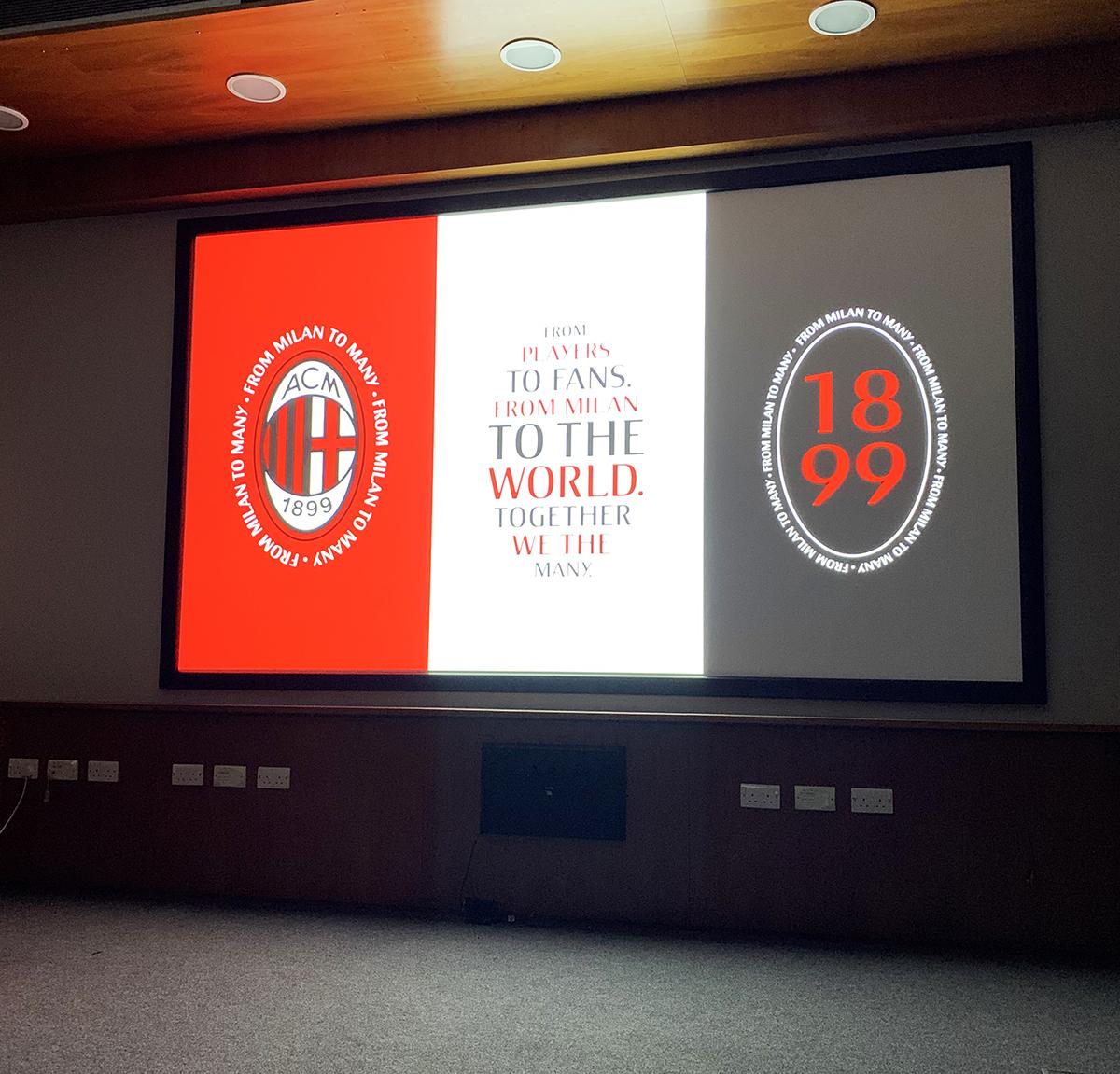 Altogether visit York Design talk from Dixon Baxi about AC Milan branding